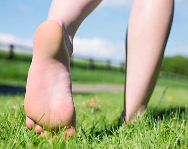 Gut zu Fuß