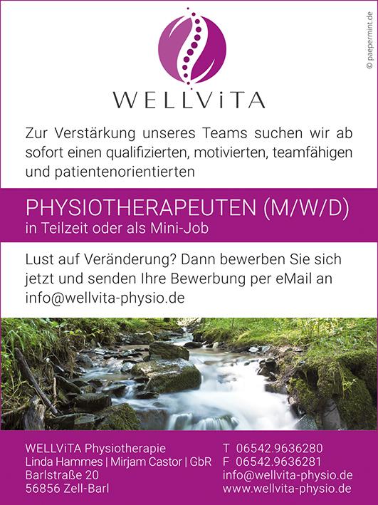 2019-066 Wellvita_Anzeige_Physiotherapeut_Druck.indd